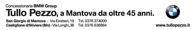 Tullo Pezzo concessionaria BMW a Mantova